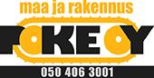 Maa ja Rakennus POKE Oy Logo